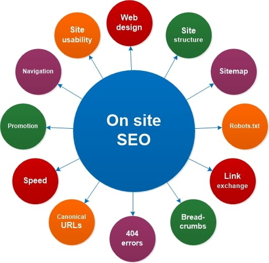 On Site SEO Services