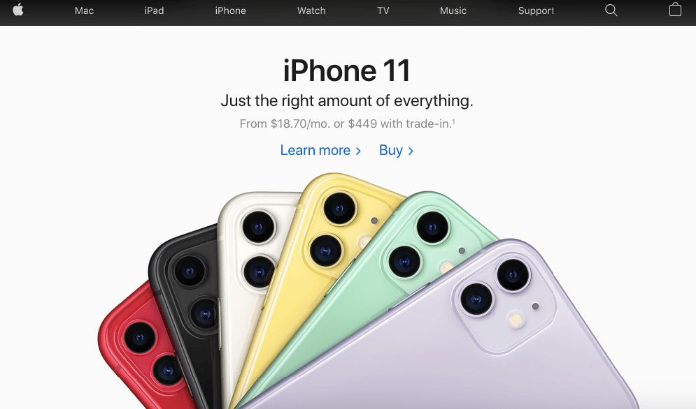 iphone 11 CRO