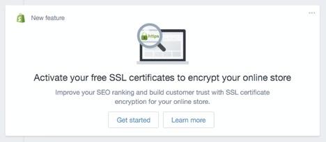 Shopify SSL Installation