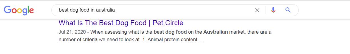 mera descriptions google