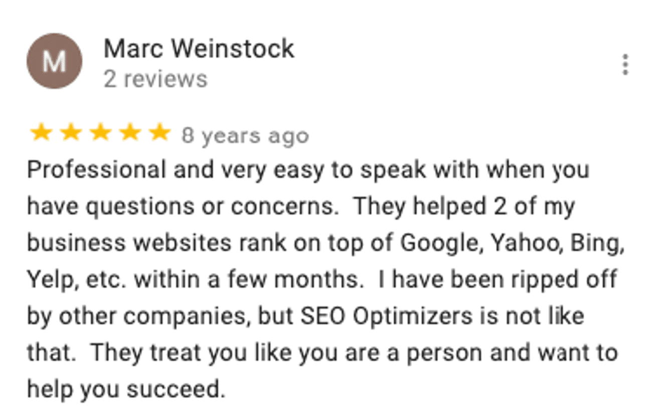 Marc SEO Review